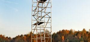 wieże aluminiowe